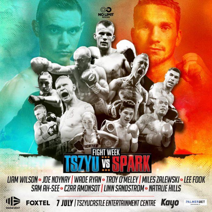 Tim Tszyu vs Steve Spark