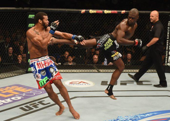 UFC middleweight Uriah Hall