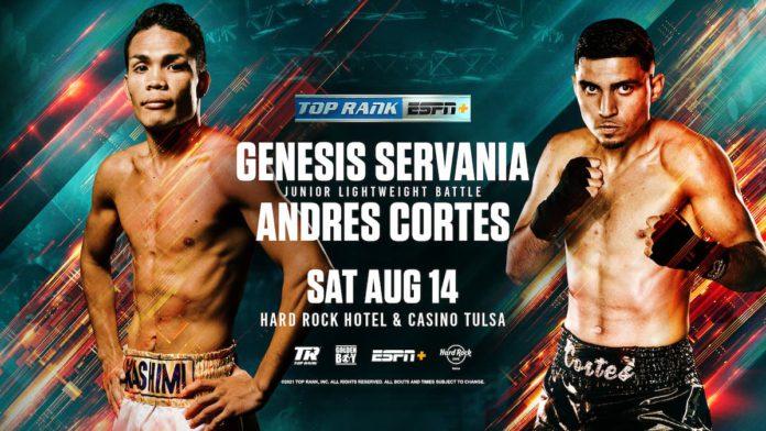 Servania vs Cortes joins Franco vs Moloney 3 fight card