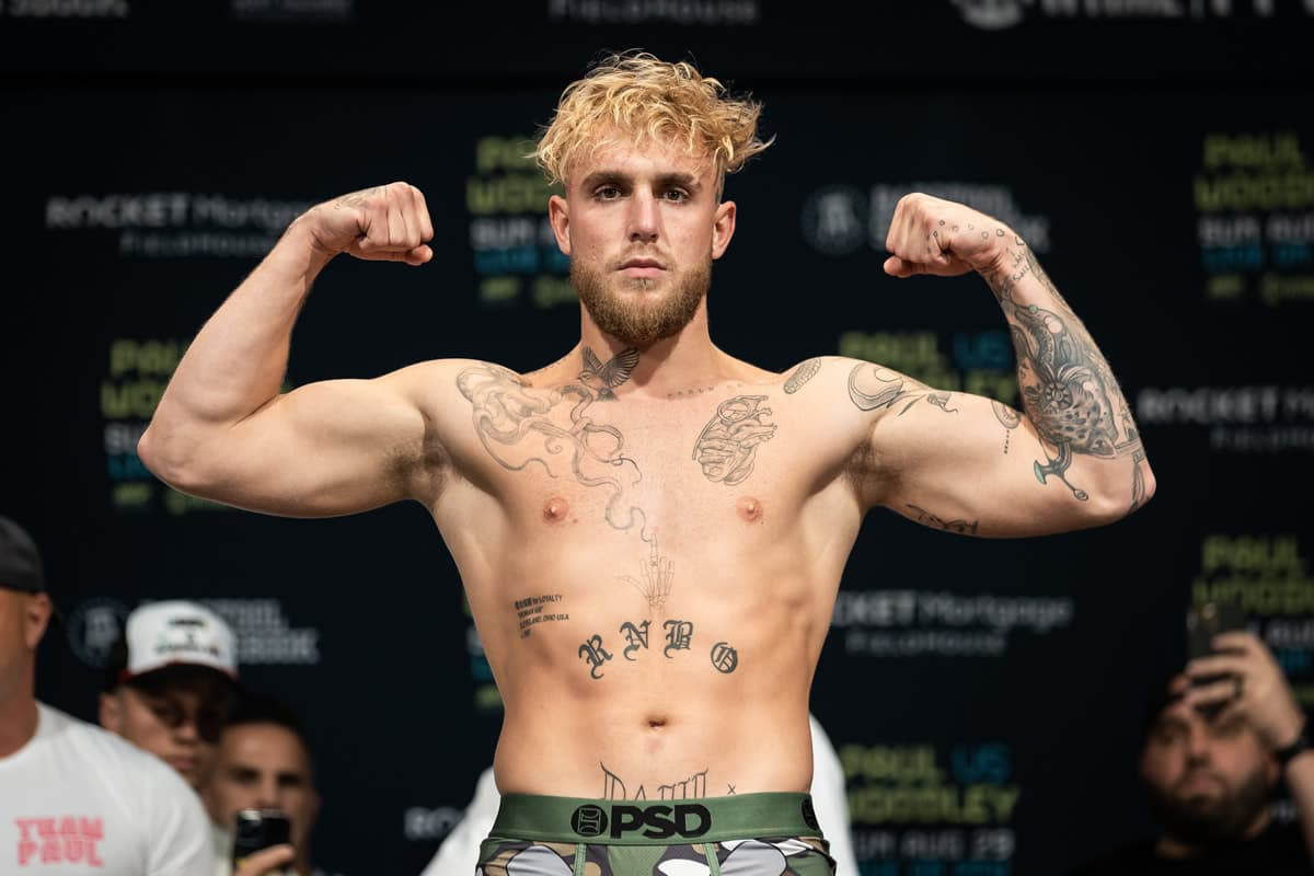 Jake Paul weigh-in
