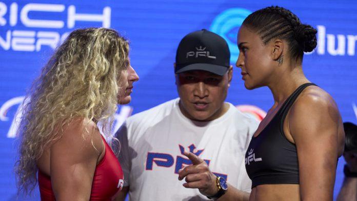 PFL 8 Kayla Harrison vs Genah Fabian