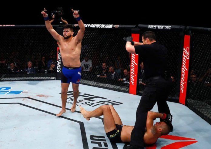 UFC middleweight Kelvin Gastelum