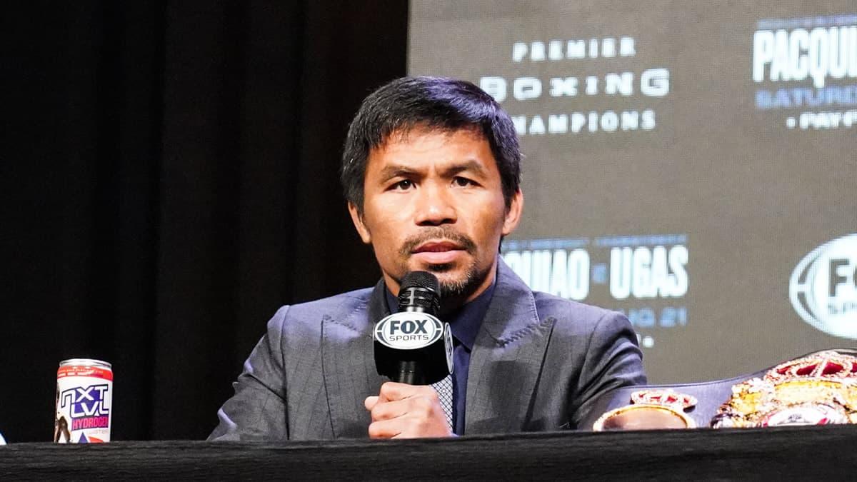 Pacquiao vs Ugas post-fight press conference live stream video