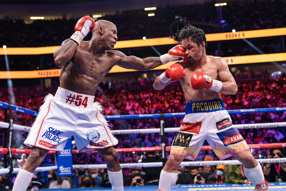 Best Shots: Yordenis Ugas defeats Manny Pacquiao to retain title