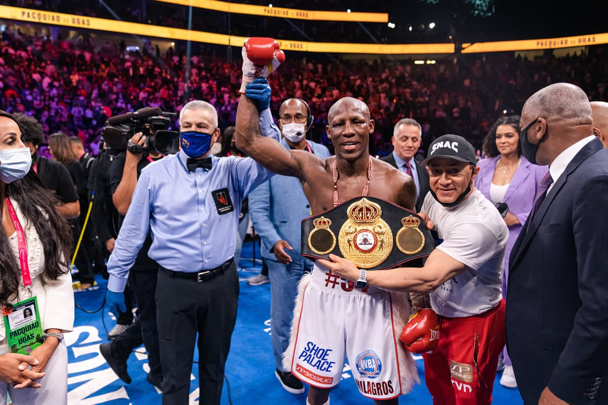 Yordenis Ugas retains WBA welterweight title