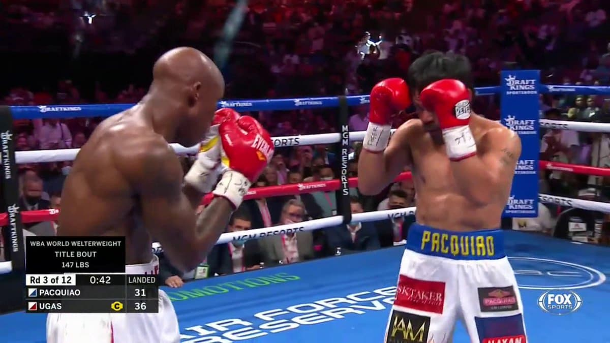Manny Pacquiao vs Yordenis Ugas full fight video highlights