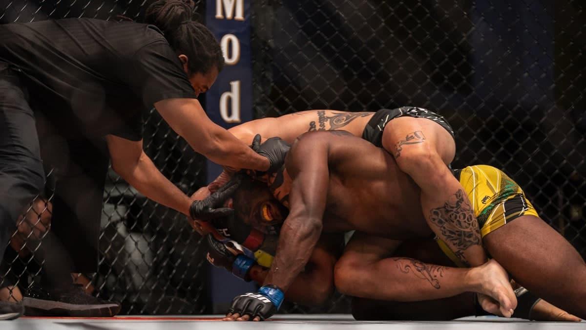 Anthony Smith vs Ryan Spann full fight video highlights