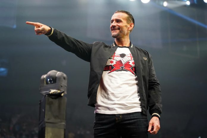 CM Punk returns at AEW All Out 2021