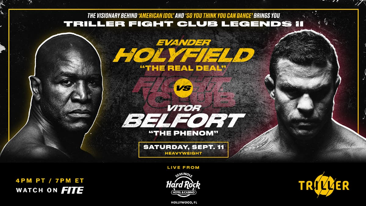 Holyfield vs Belfort Australia time – all states and territories