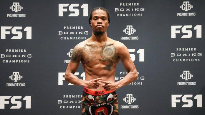 Maliek Montgomery weigh-in