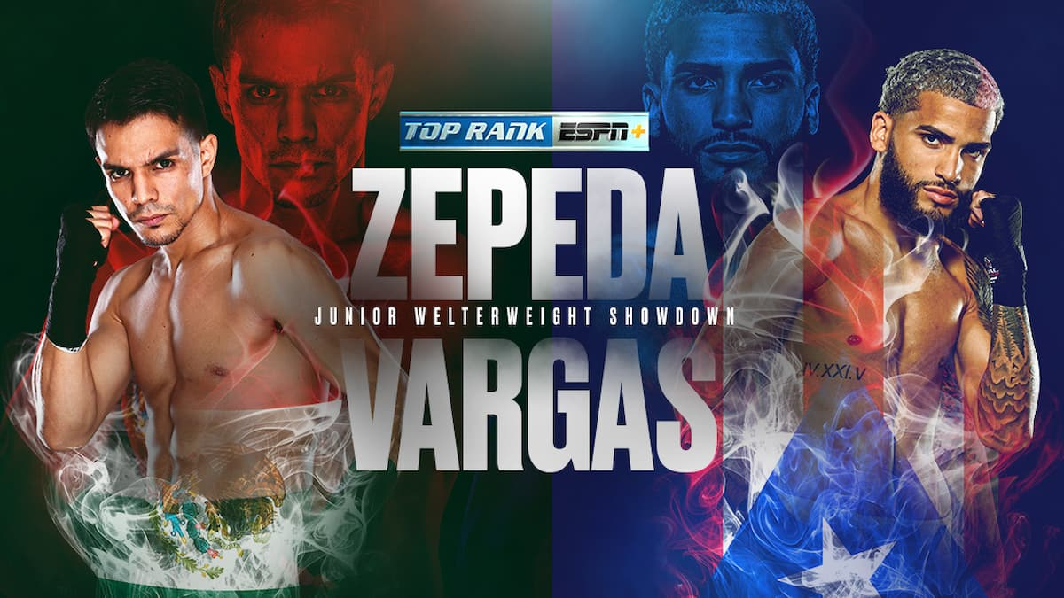 Jose Zepeda vs Josue Vargas card, tickets, time, how to watch