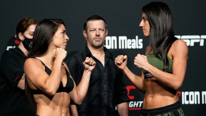 UFC Vegas 39 Mackenzie Dern vs Marina Rodriguez