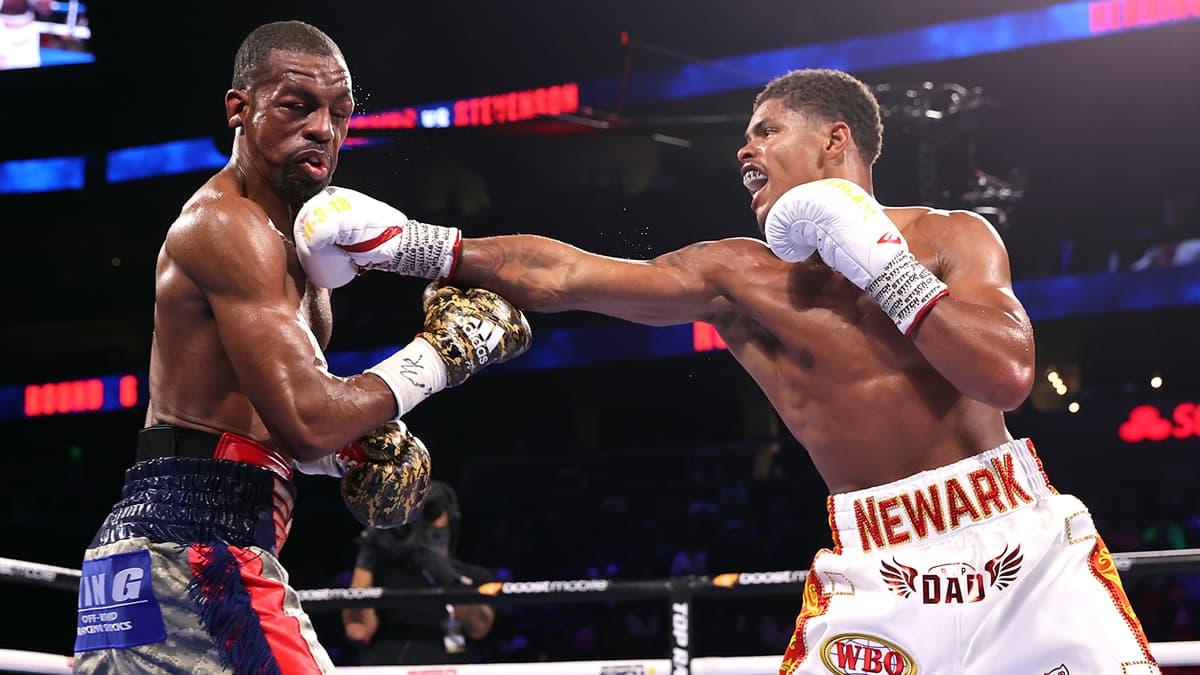 Jamel Herring vs Shakur Stevenson full fight video highlights