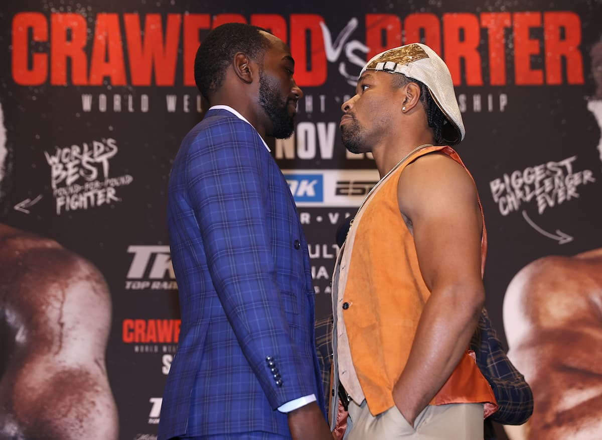 Terence Crawford vs Shawn Porter