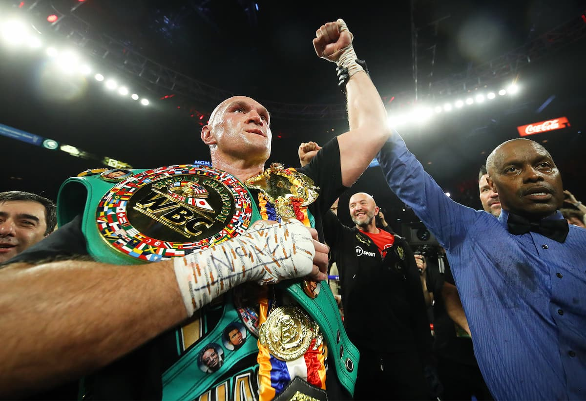 Tyson Fury victorious over Deontay Wilder