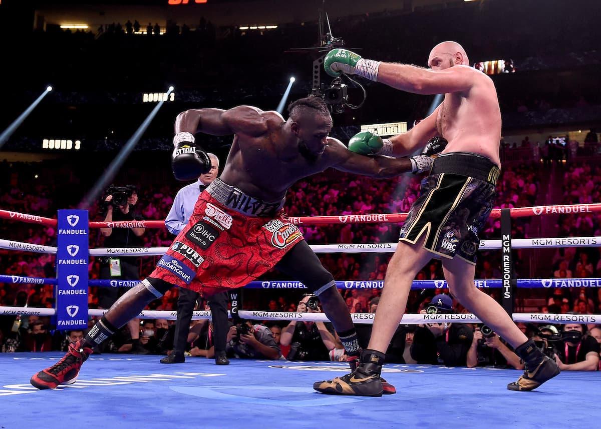 Tyson Fury vs Deontay Wilder 3